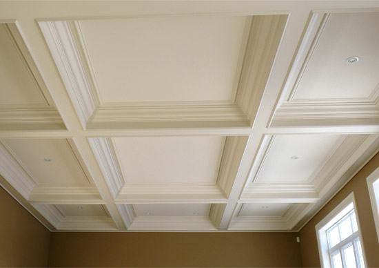 Pin image installation with information station 3 for Poutre decorative plafond